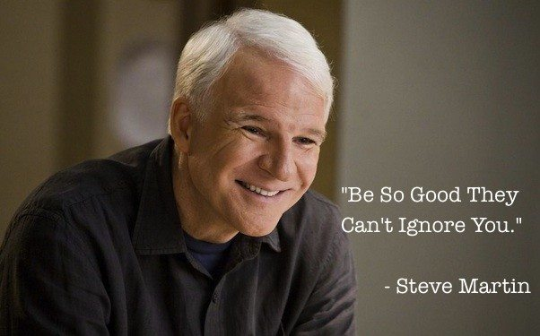Key To Success According To Steve Martin
